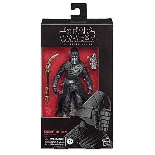 Star Wars Figura coleccionable The Black Series Knight of Ren Toy de 15,24 cm, The Rise of Skywalker para niños a partir de 4 años