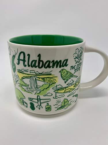 Starbucks 2018 ALABAMA Been There Series Across The Globe Collection Ceramic Coffee Mug