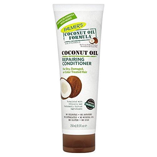 Palmers - Acondicionador de reparación (para la noche) con aceite de coco, 250 ml
