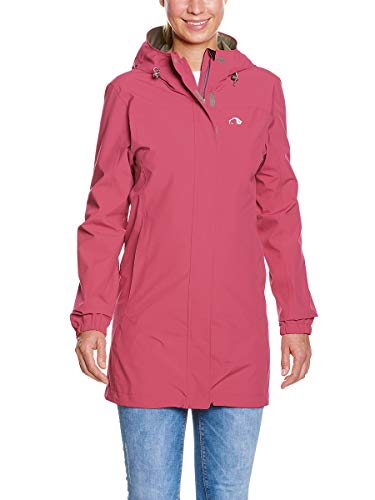 Tatonka Damen Neta W's Coat Mantel, Performance pink, 42