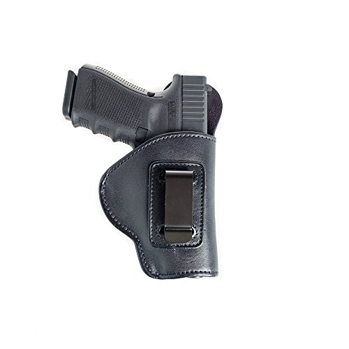 Inside The Pants (IWB) Soft Leather Holster for Kimber Ultra Carry II. Super Soft Comfortable Leather for Conceal Carry. Black R/H.