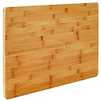 EYEPOWER Tagliere Professionale XL in Legno di bambù 50x35x2 cm Tavola Grande