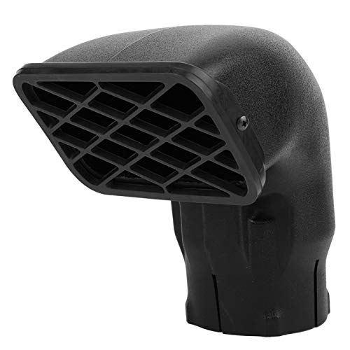 Reemplazo de snorkel, colector de polvo resistente a la intemperie, entrada de aire, accesorio de coche de 3,5 pulgadas para uso en granjas todoterreno en carretera