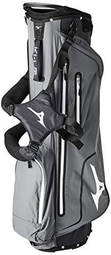 Mizuno K1 L0 Stand Bag, Black Charcoal