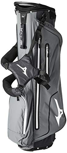 Great Features Of Mizuno K1 L0 Stand Bag, Black Charcoal