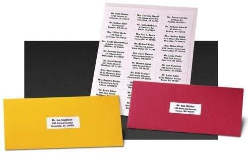 9527 Product 30 up 1 x 2-5/8 Sticker Labels Shipping Address Labels 1000 Sheets SKU Labels for Laser/Ink Jet Printer,Total 30000 Labels Photo #2