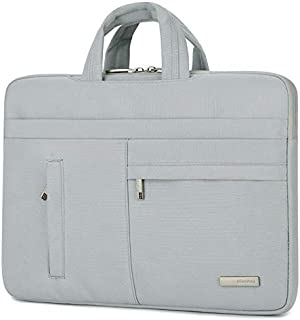 Yuanzengjunfva Notebook Bag Computer Bag Handbag Waterproof Liner Bag 13/14 Inch (Color : Grey, Size : 15.6 inch)