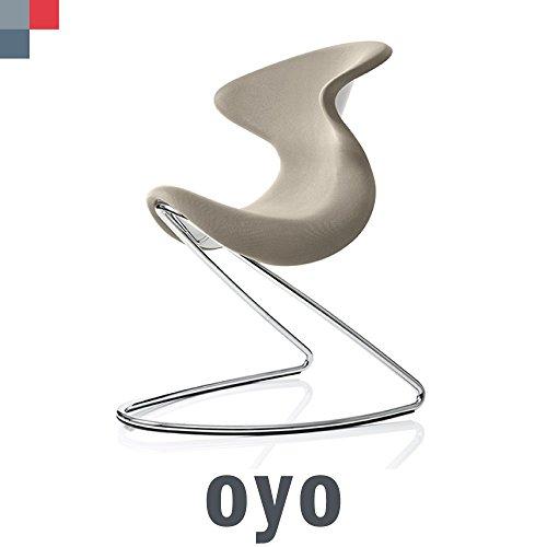 OYO von Aeris?Der Kultige Sattel Stuhl. Für Zuhause oder das Büro. - sandstein