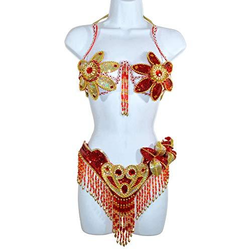 Samba Showgirl Bikini brasilianisches Kostüm Set