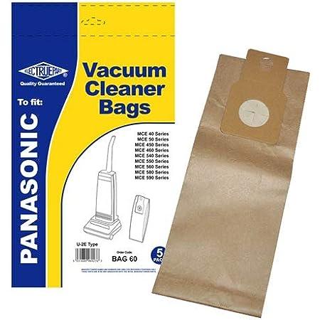 5 x C-20E Vacuum Bags for Panasonic MC-E652 MC-E653 MC-E654 Hoover UK