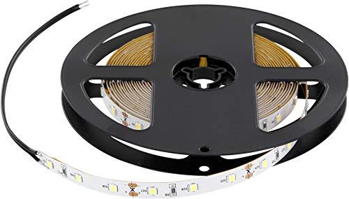 Bande lumineuse LED haute qualité à intensité variable 5 m 6 000 lm Fabriqué en Union européenne Blanc chaud 3000 K 5 m