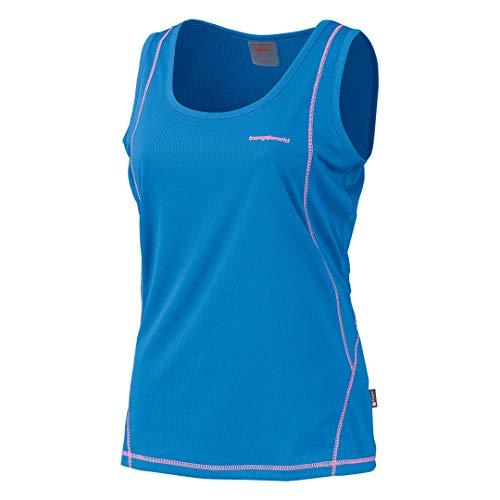 Trangoworld Thury Camiseta, Mujer, Azul Oscuro 620, M