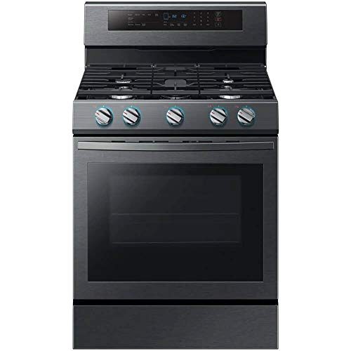 Samsung NX58R6631SG 5.8 Cu.Ft. Black Stainless Slide-in Gas Range