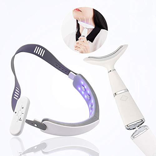 V Line Masque Ems Facial Minceur V-Visage Ceinture De Levage Machine Photon Thérapie Infrarouge Masseur Pour Les Yeux Réduire Double Menton Cou Dispositif Anti-Rides