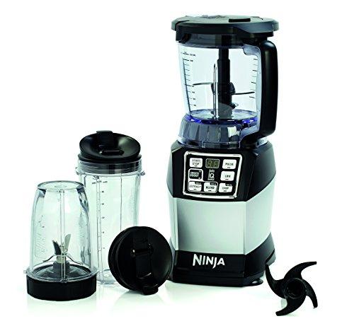 Ninja Kompakte Küchenmaschine mit Nutri Ninja 1200 W – BL490EU