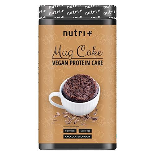 PROTEIN MUG CAKE cupcake veganistische chocolade - 6x meer proteïne dan normale cupcakes - MugCake met chocoladekruimels - Chocolade Cup Baking Mix