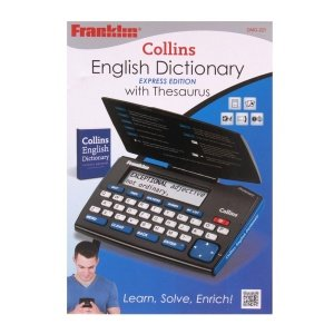 Electronic English Dictionaries