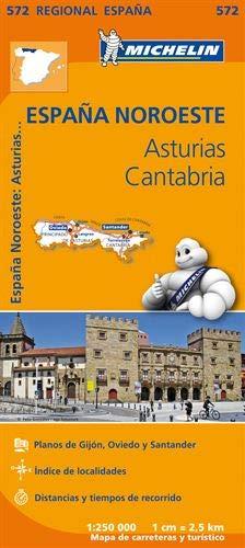 Mapa Regional Asturias, Cantabria (Carte regionali)