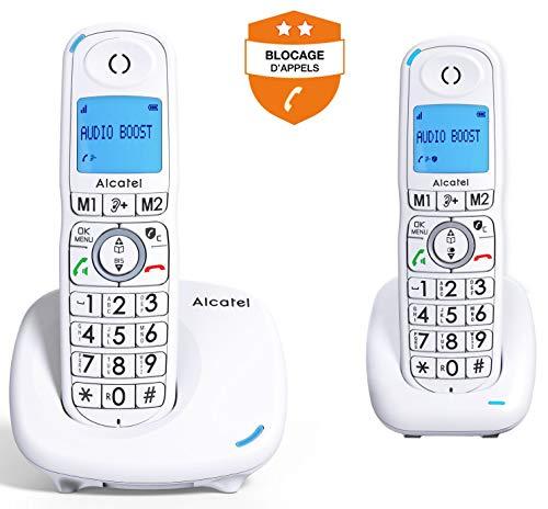 Alcatel XL585 Duo Blanc
