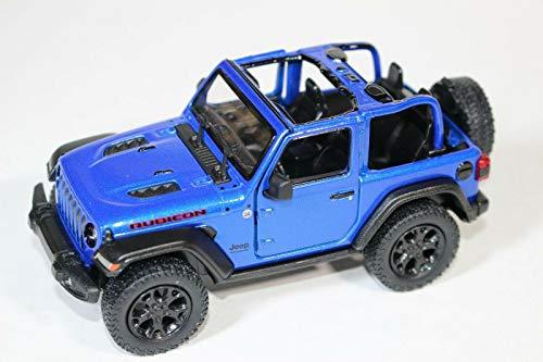 2018 Jeep Wrangler Rubicon No Top Blue - Kinsmart P/B