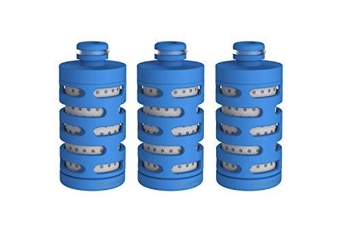 Phillips - AWP287 - Cartucho Filtro de Agua Modelo Fitness para Botella Go Zero, Duración de cada filtro 1 mes / 200 litros, Pack 3 unidades
