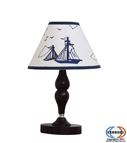 GEENNY Lamp Shade, Nautical Explorer