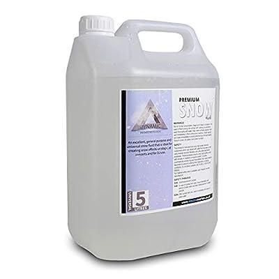 Dynamic Premium Snow/Foam Machine Fluid 5L Liquid Solution Disco Party Effects