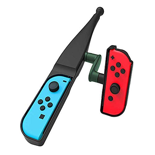 KONEE Caña de pescar Compatible con Nintendo Switch, Kit de bajo de pesca para Switch Joy Con, Switch Joy-Con Accesorios Controlador de pesca