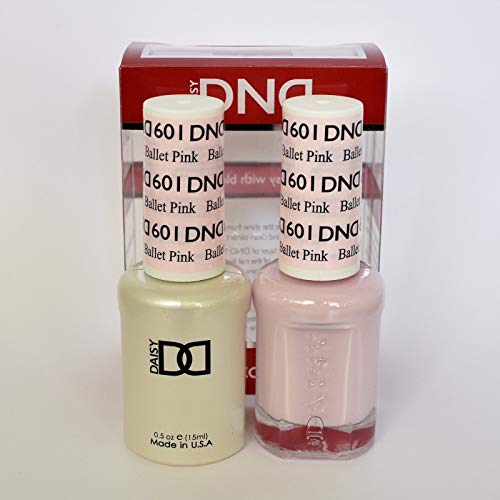 DND Daisy Duo Gel W/ matching nail polish -DIVA COLLECTION- BALLET PINK- 601