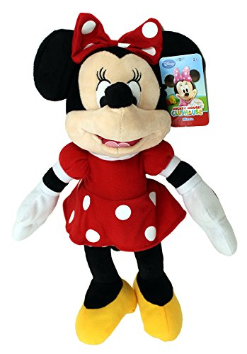 "Disney Mickey Mouse Clubhouse Plush 17"" Minnie Red Dress 4"