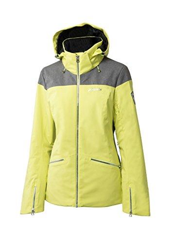 Phenix Damen Virgin Snow Jacket Skijacke, Lime, 40