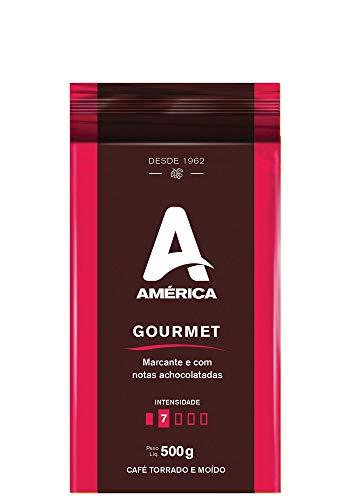 Café Torrado e Moído América Gourmet Alto Vácuo 500 g