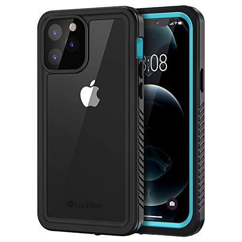 Lanhiem Funda Impermeable iPhone 12 Pro, [No para iPhone 12] Carcasa Sumergible Resistente Al Agua IP68 [Protección de 360 Grados], Carcasa para iPhone 12 Pro con Protector de Pantalla Incorporado
