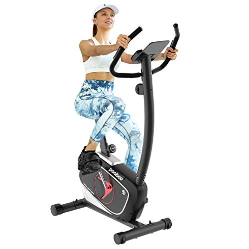 pooboo exercise bike for home cardio workout magnetic cycling bike