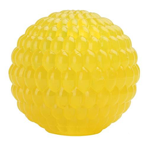 huisdier lekkende voedsel bal rubber tanden molar beet puzzel speelgoed ronde gat ontwerp geel grote en middelgrote honden zijn van toepassing,M