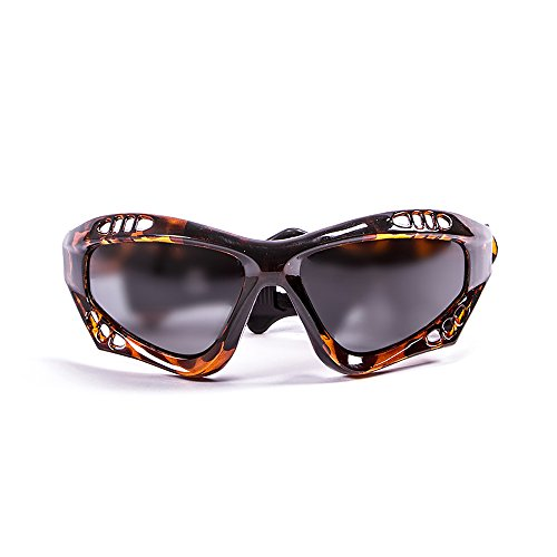 OCEAN SUNGLASSES - Australia - lunettes de soleil polarisÃBlackrolles  - Monture : Marron - Verres : FumÃBlackrolle (11700.2)
