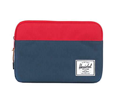 Herschel Anchor Sleeve Aktentasche für 11 Zoll MacBook, Navy/Rot