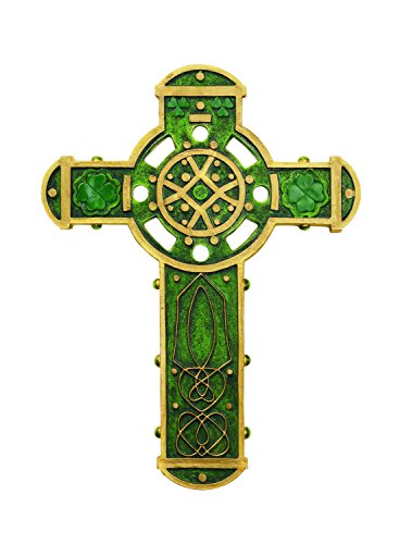 Creative Brands Gifts of Faith Irish Celtic Wall Cross, 9.9-Inches