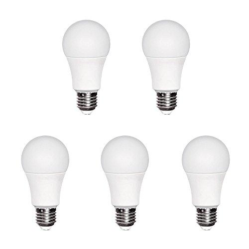 A2BC LED Lighting 554007800400 Lot de 5 ampoules LED A60, 10 W, équivalent à 60 W avec lumière neutre