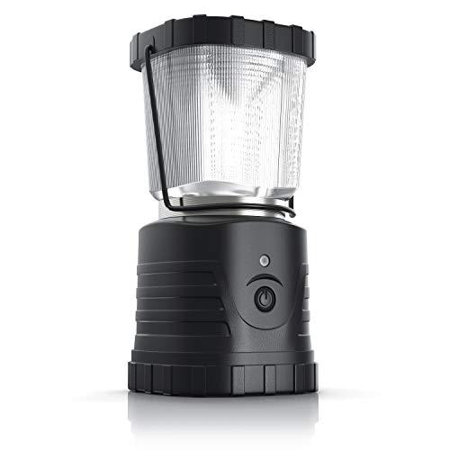 Brandson - LED Camping Lampe 13W - 2 Verschiedene Helligkeitsstufen - 3 Lichtmodi EIN, Aus, Blinken - Tragegriff - batteriebetrieben - Wasserabweisend - stoß- und vibrationsfest - Laterne