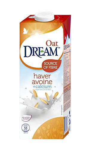 DREAM Oat Calcium & Vitamins 1 L EU - Lot de 6