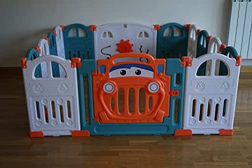 Bamitus - Parque de Juego para Bebe Plegable, Parque Infantil de Plástico,...