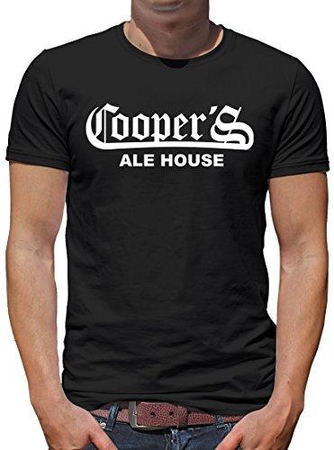 TShirt-People Coopers Ale House T-Shirt Herren L Schwarz