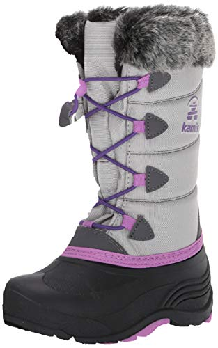 Kamik Snowgypsy3 Snow Boot, Grey, 5 M US Big Kid