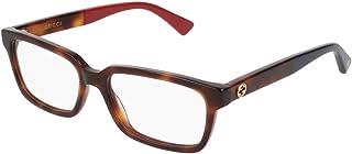Gucci GG0168O Unisex Rectangular Eyeglasses - 2 sizes
