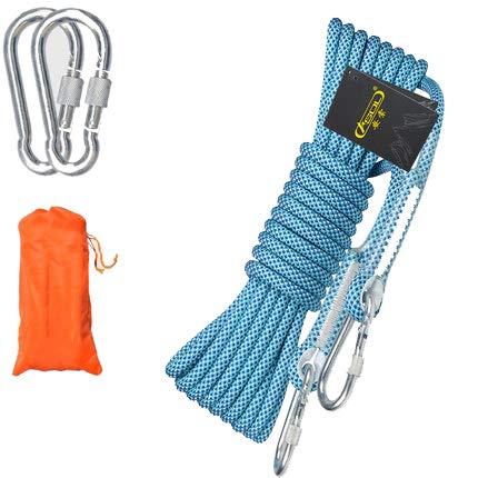 Outdoor Rock Climbing Fune, Bundle Rope, Clothesline, Intrecciata Naturale, Resistente, Multifunzionale, 5m 10m 15m 20m, Campeggio, Fire Rescue Paraca