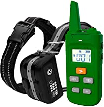 TBI Pro Dog Training Collar with Remote - Shock Collar for Dogs Range 2000 feet, Vibration Control, Rechargeable Bark E-Collar - IPX7 Waterproof for Small, Medium, Large Dogs, All Breeds