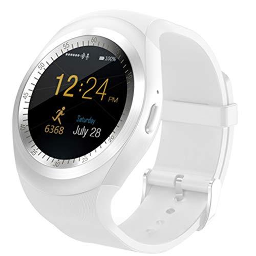 Smart Watch Round Sport Uomo Donna Fitness Bluetooth Smartwatch Phone Mate Schermo Rotondo Esercizio in Esecuzione iOS Telefono Android
