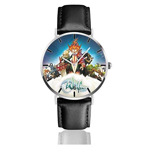 Los niños Miran Reloj Pulsera niño Historieta 3D Impermeable Wakfu Pantalla Redonda 38mm Batería de botón Poder Unisex Watch