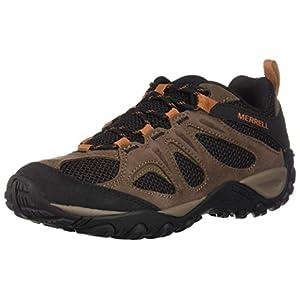 Merrell mens Yokota 2 Wide Width Hiking Shoe, Bracken, 10.5 Wide US